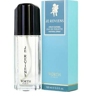 Je Reviens by Worth 100ml EDT Spray for Women