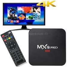 MXQ PRO Android 7.1 TV Box S905W 4K HD H.265 Quad Core 1G 8G WiFi Médias Player