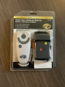 NEW Hampton Bay Ceiling Fan Wireless Remote 191-691 Transmitter And Receiver