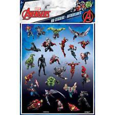 100 Marvel Avengers Super Hero Stickers Party Favors Teacher Supply Hulk Thor