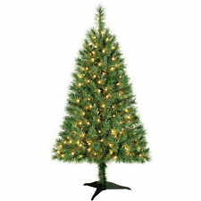 Indiana Spruce 4' Artificial Pre-Lit Clear Lights Christmas Tree - 1-Day SHIP