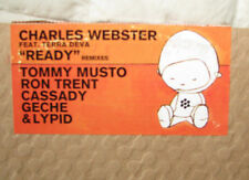 "Charles Webster 12"" ""Ready"" feat. Terra Deva - Remixes 2001 Peacefrog / Strata"