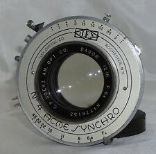 C.P. Goerz Dagor 12 Inch f6.8 Coated Lens in No. 4 ACME ynchro Shutter