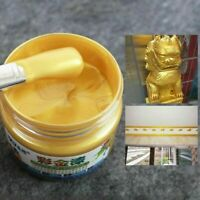 100g Gold Paint Metal Wood Tasteless Water Based Crafts Paint For Any Surface