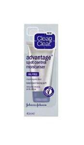 Clean & Clear Advantage Spot Control Moisturizer, Oil-Free, 40ml (1.35oz)