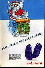 elefanten -- Schuhe - Natürlich mit Elefanten -- Werbung von 1990--