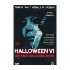 DVD HALLOWEEN VI / 6  TOTAL UNCUT / FSK18 NEU & OVP Michael Myers