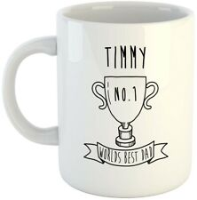 Timmy - Worlds Best Dad Mug, Fathers Day Gift