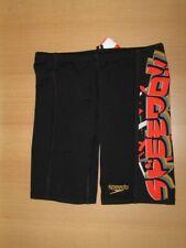 Speedo Xpres Lane Swimming Trunks Endurance Boys Size 104 Black 8-056567003