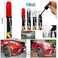 Pincel de retoque para pintura de coche moto lápiz color acabado brillo 15ml