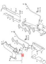 Genuine Volkswagen Exhaust Manifold NOS Audi A6 Avant S6 quattro 078253031BA