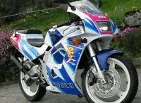 SUZUKI RG125F RG125 FUN 2002 MODEL  FULL PAINTWORK DECAL KIT