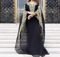 Moroccon Ari Embrodery Work Dubai Kaftan Farasha Abaya farasha Ms Creation 2019