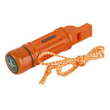 5 in 1 Multi-function Emergency Survival Compass Whistle Camping Tool FT