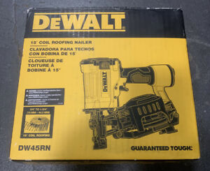 DEWALT DW45RN 15° Coil Roofing Nailer