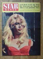 BRIGITTE  BARDOT  *  Ancien  Magazine  Allemand   *   STAR  REVUE  *