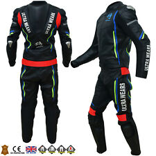 New Two Piece Motorbike Motorcycle Leather Racing Suit RRP £380 *Now £250*