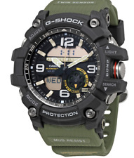 * Nuevo * Casio Para Hombre G Shock gemelo Sensor Reloj mudmaster Verde GG1000-1A3 PVP £ 329