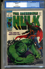 Incredible Hulk #112 CGC 9.4 NM Universal CGC #0103255018