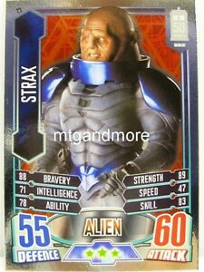 #023 Strax - Foil - Alien Attax Doctor Who - 50th Anni