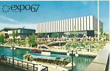 Expo 67 Postcard - Czechoslovak Pavilion - Montreal 1967 Uncirculated