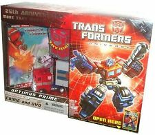 Hasbro Transformers Universe: 25th Anniversary Optimus Prime Robots Action...