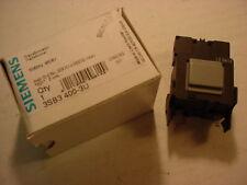 SIEMENS 3SB3 400-3U   50/60 Hz  480 / 6V TRANSFORMER