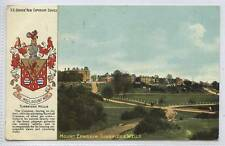 (w13w29-343) Heraldic, Mount Ephraim, Tunbridge Wells 1910 Used G-VG