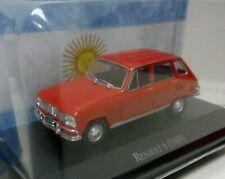 RENAULT 6 1969 1/43 SALVAT ARGENTINA