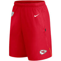 New 2020 NFL Nike Kansas City Chiefs Coach Performance Dri-FIT Training Shorts