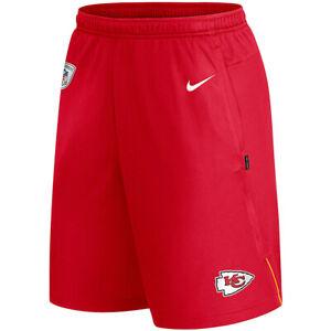 New 2021 NFL Kansas City Chiefs Nike Coach Performance Dri-FIT Training Shorts