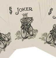 One Way Forcing Deck for Magic Tricks, Blue Bicycle Joker (Black and White)
