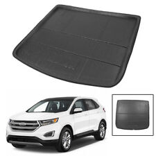 Rear Trunk Mat Boot Liner Cargo Floor Tray for Ford Edge 2015-2018