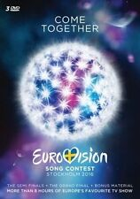 EUROVISION SONG CONTEST - STOCKHOLM 2016  3 DVD NEUF