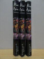 Black Opium Incense 3 Packs x 20 Sticks Kamini Hex Free Post AU
