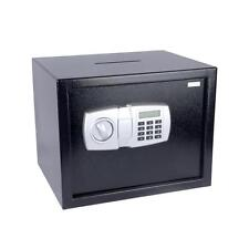 SERENE-LIFE Electronic Safe Box with Mechanical Override, Includes Keys