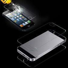 Frontal y Trasero Protector De Pantalla De Cristal Templado para Apple iPhone 5S