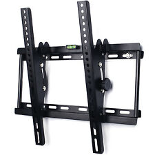 UNIVERSAL TILT TV WALL BRACKET MOUNT 32 37 40 42 46 50 52 55 INCH MONITOR HOLDER