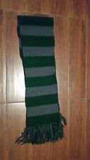 Harry Potter, green and gray, 64 inch woolen scarf, Slytherin