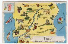 figurina SERIE ITALIA FIUMI PRINCIPALI LA FOLGORE N. 167 TIRSO REC