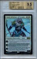 MTG M19 Ajani Adversary of Tyrants BGS 9.5 Gem Mint Magic Card Amricons 3053