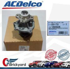 NEW ACDELCO 12620226 ENGINE WATER PUMP CHEVY COLORADO TRAILBLAZER HUMMER ISUZU