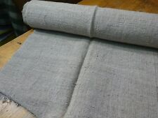 A Homespun Linen Hemp/Flax Yardage 10 Yards x 24''   # 9588