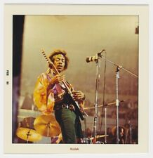 "JIMI HENDRIX 4""X4"" QUALITY REPRINT KODAK PHOTO FROM FEBRUARY 1969"