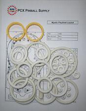 1980 Bally Mystic Pinball Machine Rubber Ring Kit
