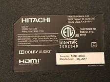 Hitachi 55R7 T-Con Board 342911003603 With 2 Ribbon Cable Included New.