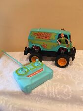 Scooby Doo Gang Remote Control Off Road Mystery Machine Van Car Lights And Sound