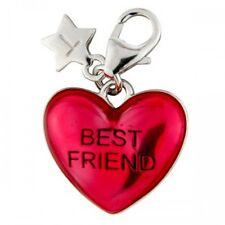 Silver Charm TINGLE LONDON BEST FRIEND HEART, Brand New, JEWELLERY, BOXED SCH240
