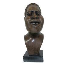 Shona Head Stone Carving Male Sculpture