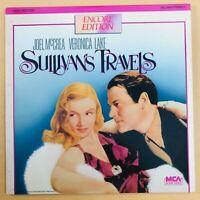 Sullivan's Travels Laserdisc